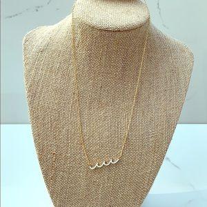 Altar'd state wave necklace